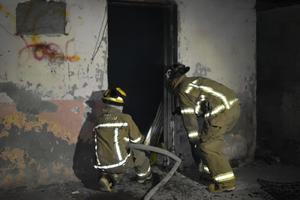Se incendia casa de toxicómano en Monclova