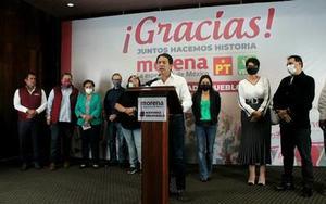 Mantendrá Morena, PT  y PVEM alianza legislativa