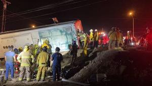 Accidente de autobús deja 7 muertos en Baja California