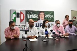 Reconoce PRI y 'Lupita' Murguía derrota en el proceso de elecciones