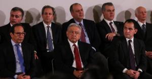 AMLO: Se reúne con empresarios Slim, Azcárraga y Servitje