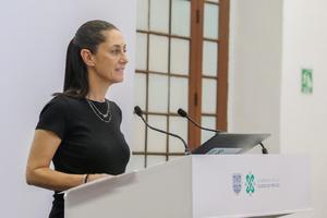 Claudia Sheinbaum: No puede regresar a México el régimen autoritario