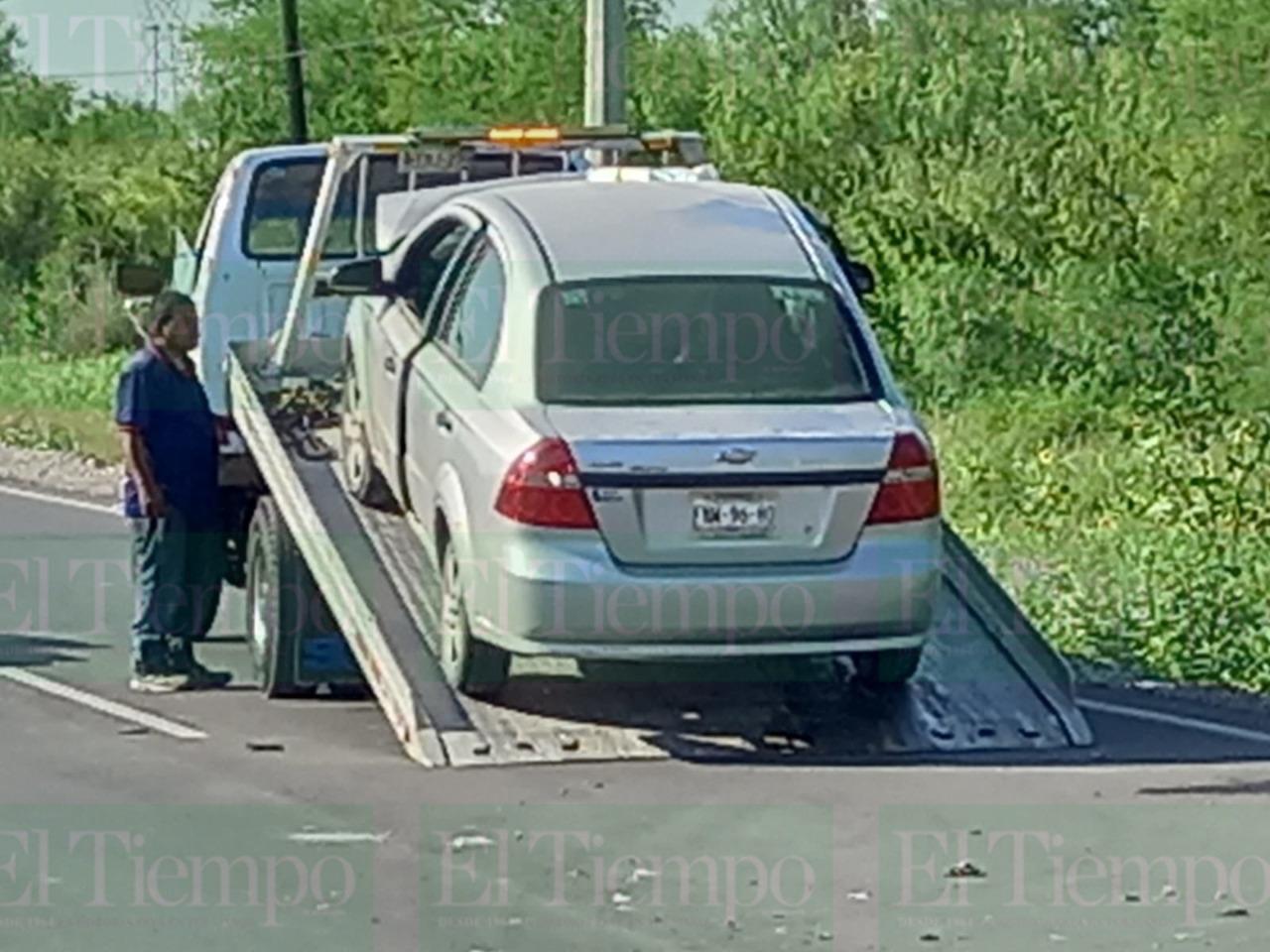 Se distrae y provoca fuerte accidente en San Buenaventura
