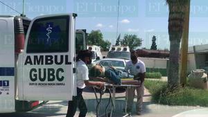 Chocan ciclistas en Frontera