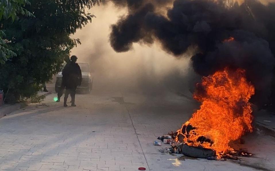 Disturbios en Comité Electoral de Viesca