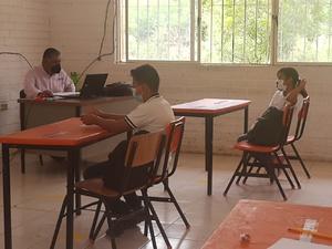 Sin incidentes escuelas piloto de región desierto