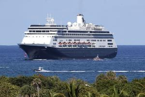 Dos pasajeros de un crucero en el Caribe dan positivo a la COVID-19