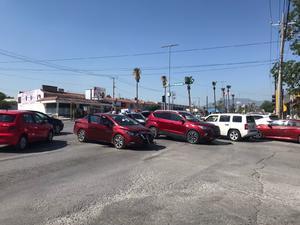 Carambola en el bulevar Ejército Mexicano de Monclova