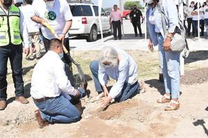 Realiza UAdeC plantación de 120 árboles en Monclova