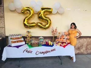 Milagros recibió una emotiva fiesta de cumpleaños