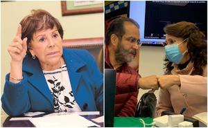 Esposo de Alejandra Barrios analiza denunciar a Bejarano y Padierna