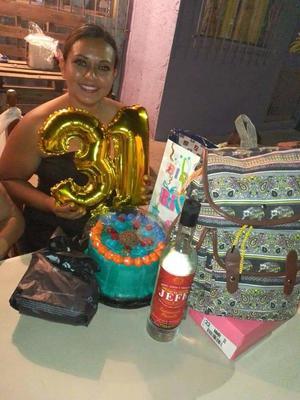 Brenda festeja 31 años de vida