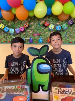 Tadeo y Santino celebran su cumpleaños