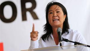 Keiko Fujimori pide al jurado electoral no convalide a candidato ilegítimo