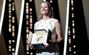 Jodie Foster recibe la palma de oro de honor en Cannes