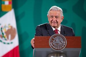 López Obrador presume encuesta mundial que le da alta aprobación