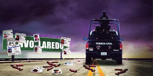 71 desaparecidos reportan al  menos en la Monterrey Nuevo Laredo
