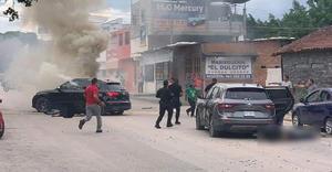 Cuatro muertos al menos deja balacera en Tuxtla