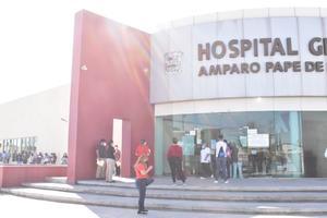 Con riesgo de tercera ola corren a personal indispensable en la pandemia en el Hospital Amparo Pape