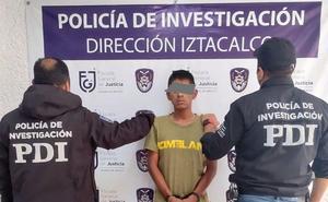 Detienen a presunto narcomenudista en Iztacalco