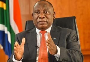 Presidente sudafricano condena la violencia contra el arresto de su antecesor