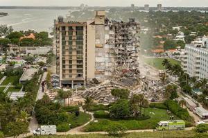 Sube a 86 el número de víctimas mortales por derrumbe de edificio en Surfside