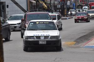 El transporte colectivo en taxis se recupera un 80% en Monclova