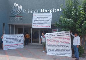 Acusan a directivos del ISSSTE en Monclova de favoritismos