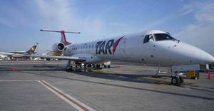 Los vuelos comerciales de TAR se reactivan en agosto