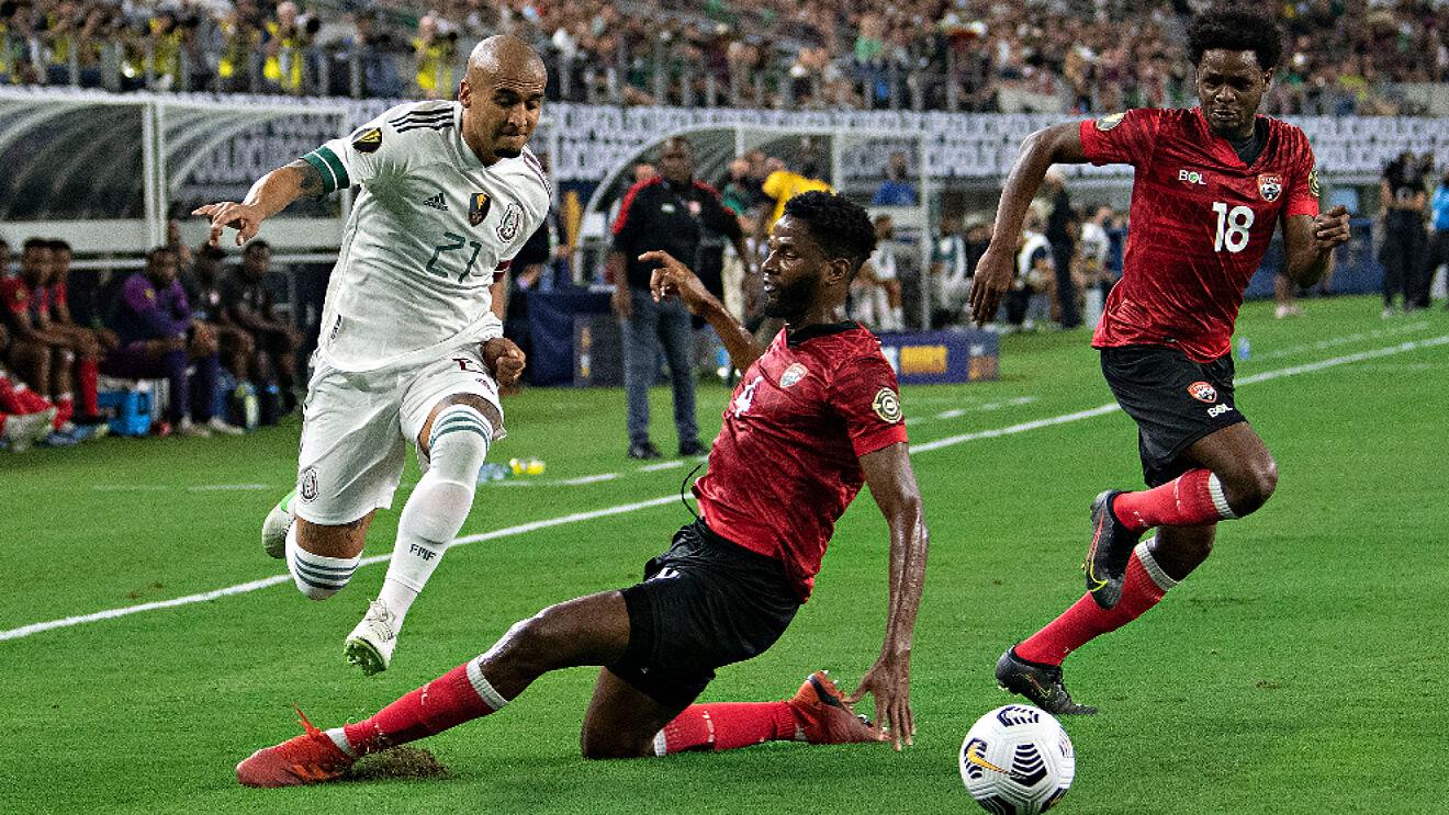Mal inicio de México en Copa Oro