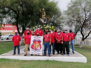 'Napos' conmemoran el 87 aniversario del Sindicato Nacional Minero