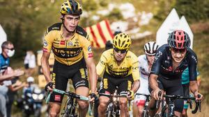 Kuss gana la primera cita pirenaica delante de Valverde, Pogacar sigue líder