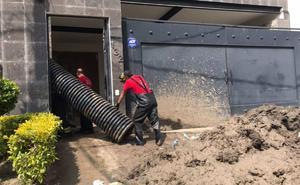 Padece familia por deslave tras tormenta en Naucalpan