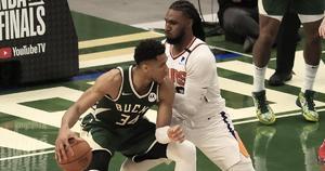 120-100: Los Bucks acortan distancias ante los Suns en las Finales de la NBA