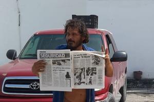 Acude 'El Morín' al Periódico El Tiempo a recoger su publicación