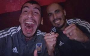 Nahuel Guzmán y Guido Pizarro festejan título de Argentina con Tigres