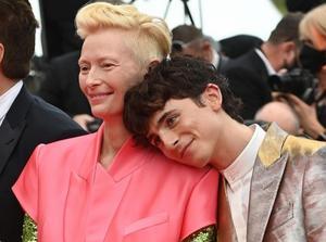 Tilda Swinton y Timothée Chalamet encabezan la alfombra roja en Cannes