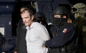 Trasladan a Héctor 'El Güero' Palma al penal del Altiplano