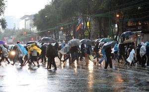 Alerta amarilla por lluvias en CDMX