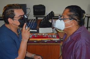 DIF Frontera invita a brigada visual y auditiva