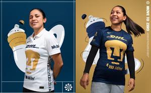Pumas presenta su nuevo uniforme para la siguiente temporada
