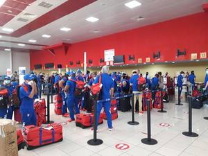 Grupo de la delegación deportiva cubana viaja rumbo a Tokio 2020