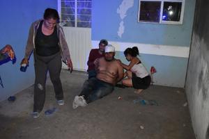 Un hombre termina golpeado en festejo familiar en Monclova