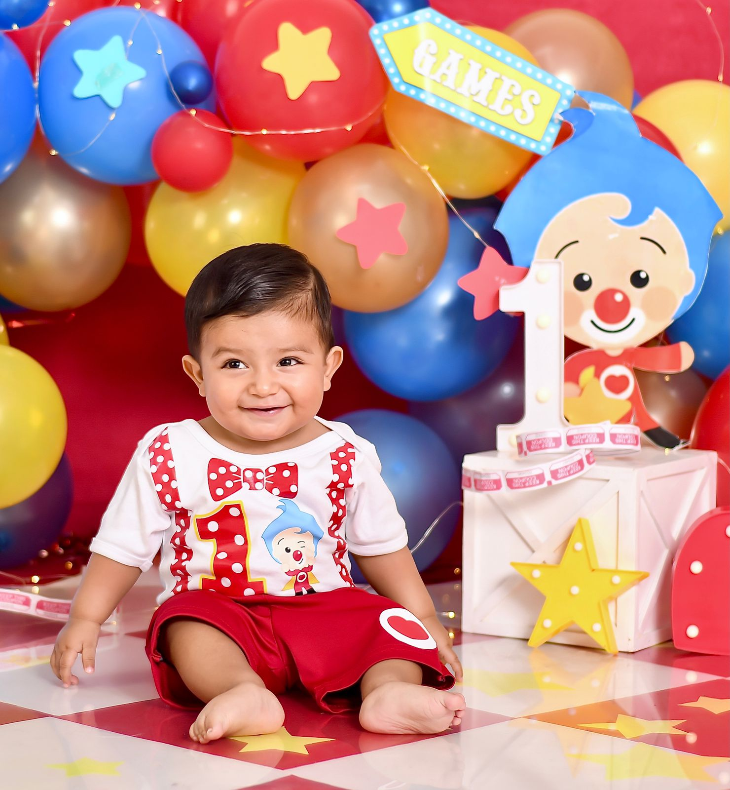 Deilan Leonel celebra su primer añito de vida