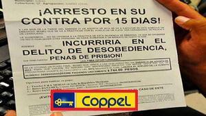 ¿Puedo ir a la cárcel por no pagarle a Coppel, Liverpool o Elektra?