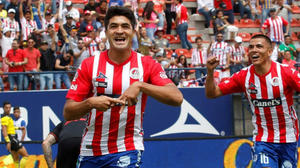 El Atlético de Madrid cede al San Luis al centrocampista uruguayo Sanabria