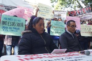 Comité de víctimas de San Mateo del Mar responsabiliza al INPI