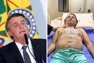 Bolsonaro recibe alta tras cuatro días ingresado por obstrucción intestinal