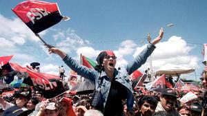 Pocos festejan la revolución de Nicaragua en su aniversario número 42