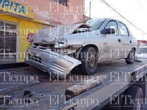 El conductor de un Chevy dormita y se estrella contra otro vehículo en Monclova